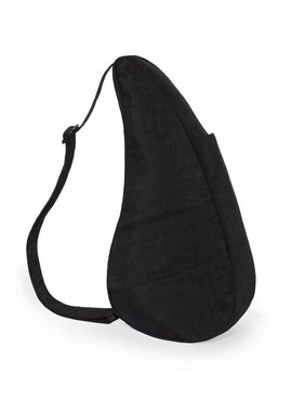 Healthy Back Bag Textured Nylon Medium  Black 6304