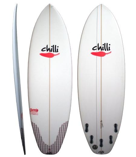 Chilli Chilli - 5'10 Cherry Peppa 34L (FCS II)