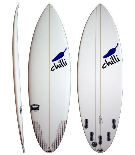 Chilli Chilli - 5'10 Rare Bird 30L (FCS II)