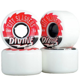 Divine Divine Wheels - City Slashers 64mm/78A 499Kr
