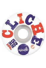Cliche Cliche, Woodcut Wheels, 52 mm
