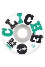 Cliche Cliche, Woodcut Wheels, 54 mm