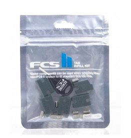 FCS FCS II - Tab infill Kit (10 x screws + 5 x Tab Infills)