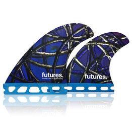 Future Fins Futures Quad - Danny Fuller (65kg - 88kg) 1299Kr