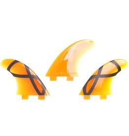 FCS FCS - 3Fin - M-55 IFT Orange Softflex
