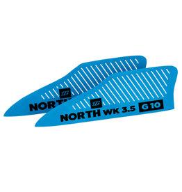 North Kiteboarding NKB - 3,5  WK G10 Wakestyle Finset  (2pcs)
