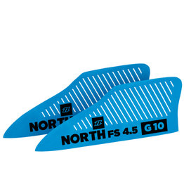 North Kiteboarding NKB - 4,5  FS G10 Wakestyle Finset  (2pcs)