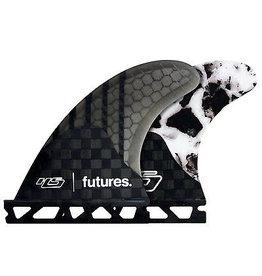 Future Fins Futures - 3Fin HS2 V2 GEN SERIES M,  WHITE MARBLE (65-88kg)