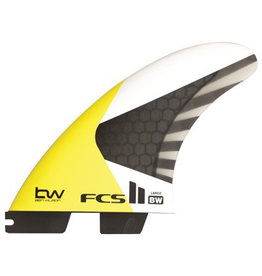 FCS FCS2 - 3Fin - Ben Wilson Kite fin PC Carbon Large(75-90kg)