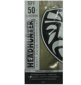 FCS Headhunter - Sunscreen Clear SPF 50 Paraben Free 5mL En gangs poser