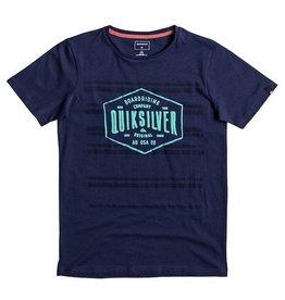 Quiksilver Quiksilver - Neverlost Striped - Medieval Blue- XL/16