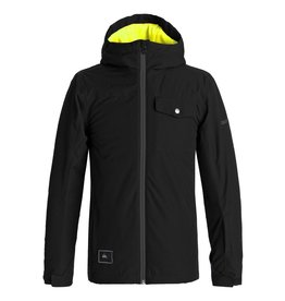 Quiksilver Quiksilver - Mission Jacket Youth - Black - 14/XL