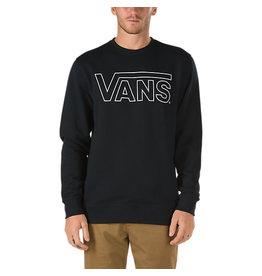 Vans Vans - Classic Crew - Black - White - XS