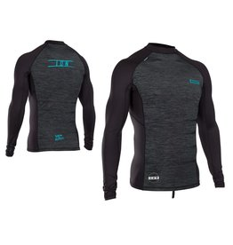 ION ION - Rashguard Men LS - Maze Black Melange, XL/54
