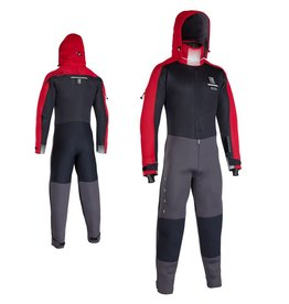 ION ION - 4/3mm Fuse Drysuit Tørrdrakt Black/red, XL/54