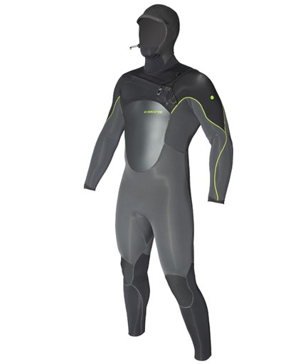 C-Skins C-Skins - 5/4mm - Hot Wired Hooded, Graphite, LT/102