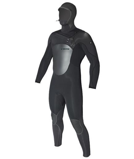 C-Skins C-Skins - 6/5mm - Hot Wired Hooded, Black, LT/102