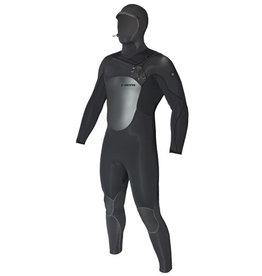 C-Skins C-Skins - 6/5mm - Hot Wired Hooded, Black, L/52