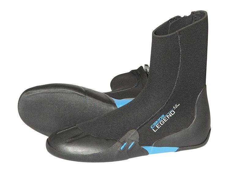 C-Skins C-SKINS - 3.5mm - Junior Legend Zip Boot, Black, XS/EU23-24