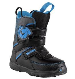 Burton Burton - Grom Boot, Black/Blue, 13C-30,5-19,5cm
