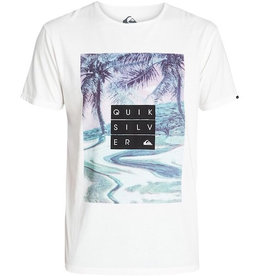 Quiksilver Quiksilver - Garment Dyed Tee Hunter, Snow White, L