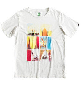 Quiksilver Quiksilver - Nomad Organic Tee Youth L10, Marshmellow, 14