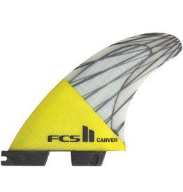 FCS FCS2 - 3Fin - Carver PC Carbon Yellow Large (75-90kg)1349kr