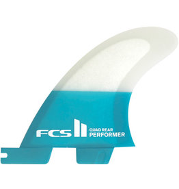 FCS FCS2 - 2Fin - Performer PC Teal Quad Rear Large (75-90kg) 699Kr
