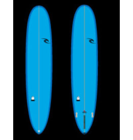 "RIP CURL - 9'1 - CRUISER - 10"" Box + 2F(FCSII) - Blue - PU - POLISH"