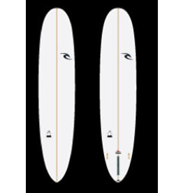 "RIP CURL - 9'1 - CRUISER - 10"" Box + 2F (FCSII) - Clear - PU"