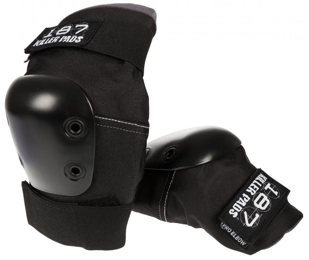 187 187 - Killer Pads Pro Elbow - Black - M