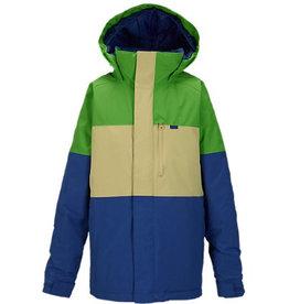 Burton Burton - Boys Symbol Jacket, Slime Block, XL (16/162cm)