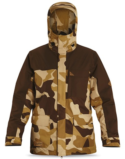 Dakine Dakine - Bishop 10K Jacket, Brown Camo, S