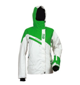 Picture Picture, Iris Jacket, White/Green, Str, XS