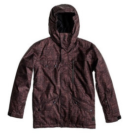 Quiksilver Quiksilver - Raft Youth Jacket, Deep Wood, T10