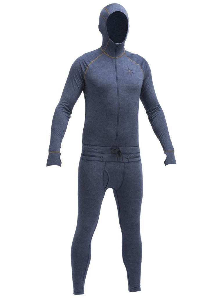 Airblaster Airblaster - Merino Ninja Suit - Midnight - L