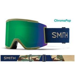 Smith Smith - Squad XL - Navy Camo Split - Chromapop - Sun Green