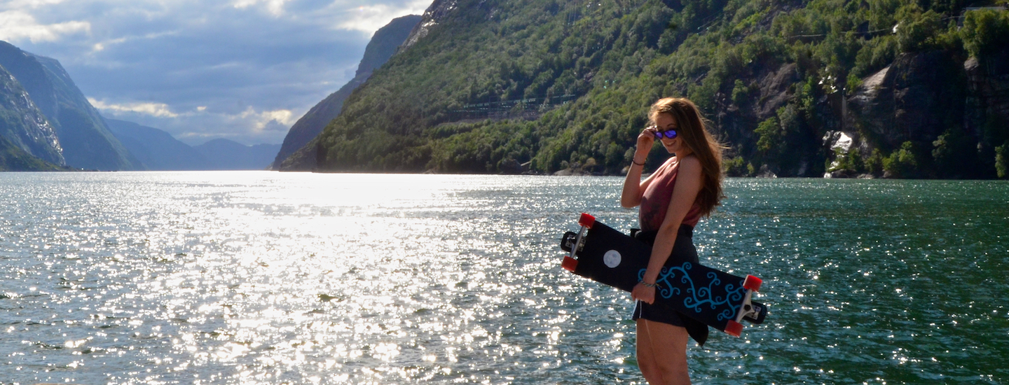 Norwegian Fjords Longboarding