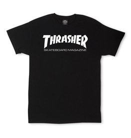 Thrasher Thrasher - Skate Mag Tee SS - Black - XL