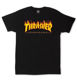 Thrasher Thrasher - Flame Tee - XL