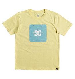 DC DC - Shuffle Face Tee - Lemon - XL/16år