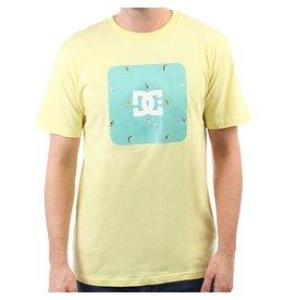 DC DC - Shuffle Face Tee - Lemon - S/48