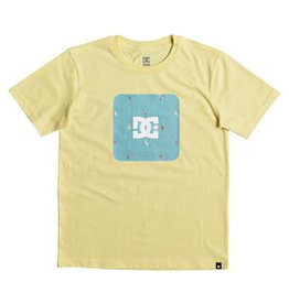 DC DC - Shuffle Face Tee - Lemon - L/14år