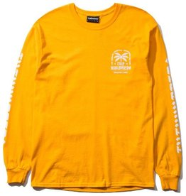 The Hundreds The Hundreds - LA CA lifestyle LS tee - GLD - S
