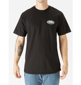 Real - Small Oval Tee - Black - M