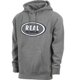 Real - Oval Hood - Gunmetal Heather - XL