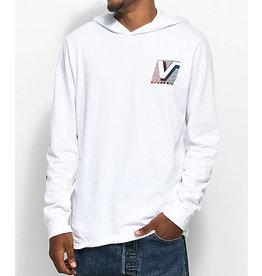 Vans Vans - Van Doren Hooded LS - White - L