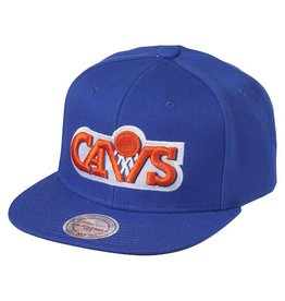 Mitchell & Ness Mitchell & Ness - Wool Solid Snapback - Clev Cav