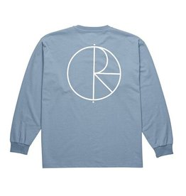 Polar Polar - Strok Logo LS - XL - C Blue