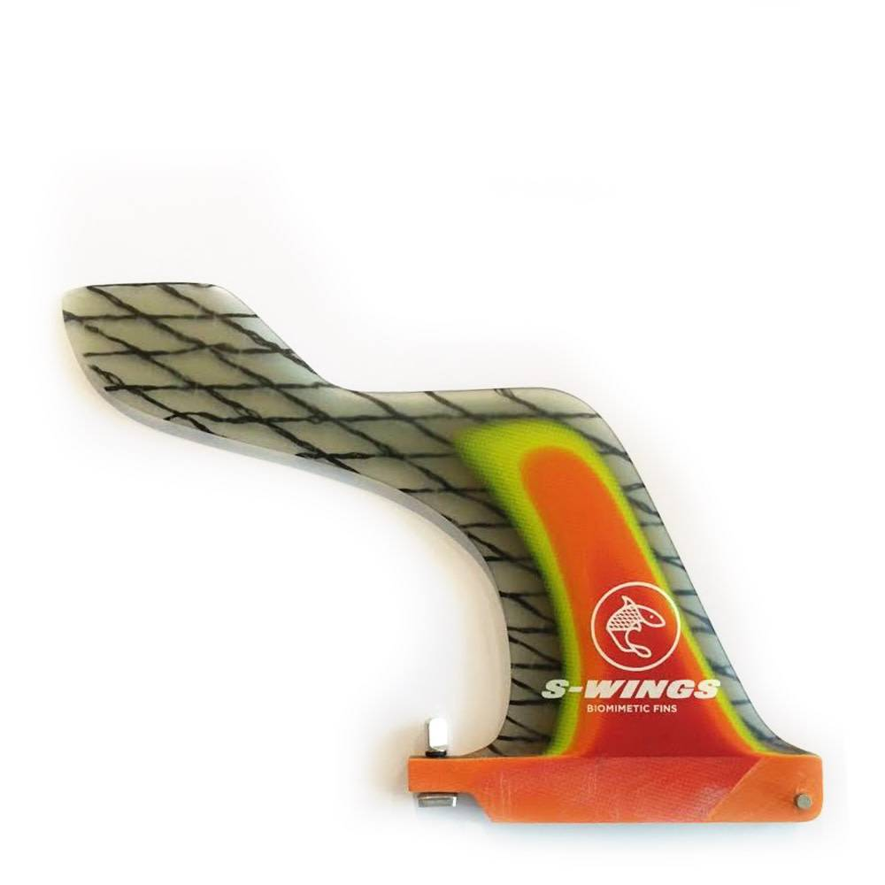 S-Wings Biomimetic Fins S-wings sw700 single carbon red